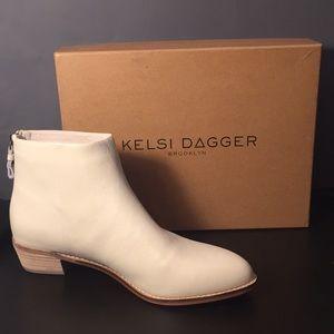 Kelsi Dagger Cumberland Ankle Boot - Bone White